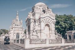 Cemiterio DOS Prazeres royaltyfri fotografi