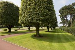 Cemitério de Normandy e memorial americanos, França Fotografia de Stock Royalty Free