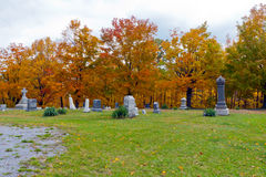 Cemitério em Pensilvânia Imagem de Stock