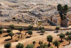 Cemitério judaico Foto de Stock Royalty Free