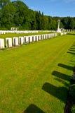Cemitério militar Imagem de Stock