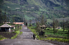 Cemoro Lawang - Indonesia Royalty Free Stock Images