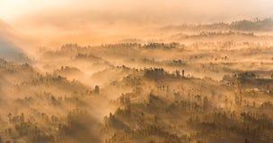 Cemoro Lawang na montagem Bromo, East Java, Indonesi Imagem de Stock