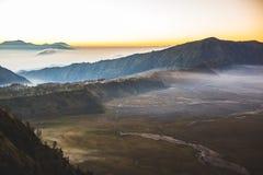 Cemoro Lawang village, Bromo Tengger Semeru National Park Stock Image