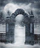 Cenário 20 do inverno ilustração royalty free