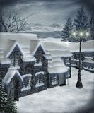 Cenário 21 do inverno Fotografia de Stock Royalty Free