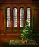 Cenário 5 do Natal Foto de Stock Royalty Free