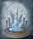 Cenário 80 da fantasia ilustração royalty free