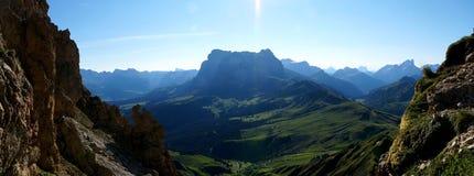 Cenário alpino maravilhoso da montanha Imagem de Stock Royalty Free