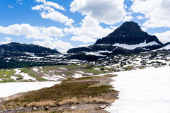 Cenário alpino no parque nacional de geleira, EUA imagem de stock royalty free