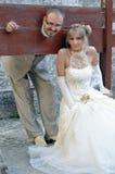 Cenário ao ar livre Wedding Fotos de Stock