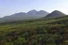 Cenário bonito da montanha Imagens de Stock