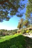 Cenário bonito de Guell do parque, Espanha Foto de Stock Royalty Free