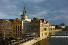 Cenário bonito de Praga Imagem de Stock Royalty Free