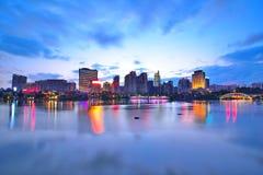 Cenário bonito do lago song popular, Nanning Imagens de Stock