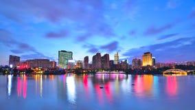 Cenário bonito do lago song popular, Nanning Fotografia de Stock Royalty Free