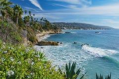 Cenário bonito em torno do Laguna Beach imagens de stock royalty free
