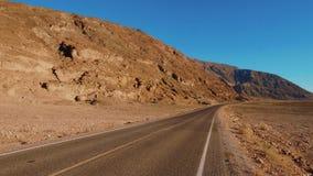 Cenário bonito no parque nacional de Vale da Morte Califórnia vídeos de arquivo