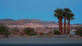 Cenário bonito no parque nacional de Vale da Morte Califórnia video estoque
