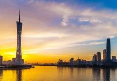 Cenário da cidade de Guangzhou Imagem de Stock