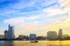 Cenário da cidade de Xiamen Foto de Stock