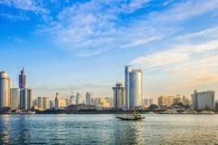 Cenário da cidade de Xiamen Foto de Stock Royalty Free