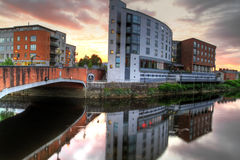 Cenário da cidade do Limerick Foto de Stock Royalty Free