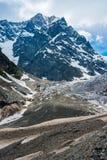 Cenário da geleira - tiro vertical Foto de Stock Royalty Free