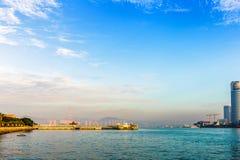 Cenário da ilhota de Gulangyu Fotografia de Stock