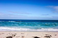Cenário da luz do dia na praia norte em Perth, Austrália Ocidental Fotos de Stock Royalty Free