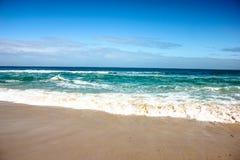 Cenário da luz do dia na praia norte em Perth, Austrália Ocidental Imagens de Stock