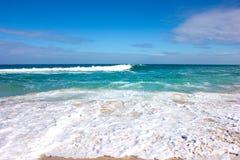 Cenário da luz do dia na praia norte em Perth, Austrália Ocidental Imagem de Stock Royalty Free