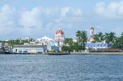 Cenário da margem em torno de Cienfuegos Foto de Stock Royalty Free