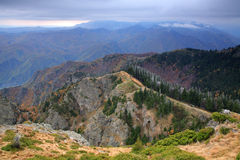 Cenário da montanha Fotos de Stock Royalty Free