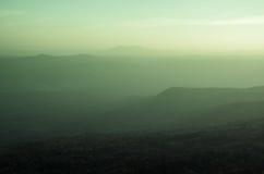 Cenário da montanha Foto de Stock Royalty Free