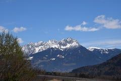 Cenário da montanha Fotos de Stock
