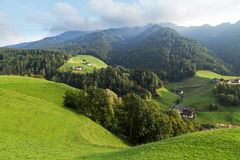 Cenário da montanha das dolomites Fotografia de Stock Royalty Free