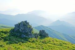 Cenário da montanha de Wutai imagens de stock