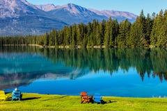 Cenário da montanha no parque nacional de jaspe Fotos de Stock Royalty Free
