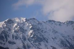 Cenário da montanha nos cumes Imagens de Stock Royalty Free