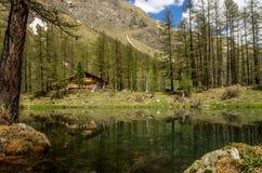 Cenário da montanha, panorama da montanha Fotos de Stock
