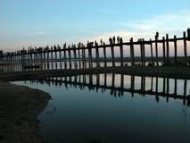 Cenário da ponte de Ubein Imagens de Stock Royalty Free