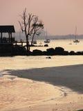 Cenário da praia Fotos de Stock Royalty Free