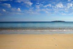 Cenário da praia Foto de Stock Royalty Free