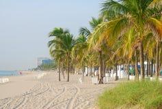 Cenário da praia de Florida Foto de Stock