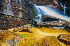 Cenário da queda da água Foto de Stock Royalty Free