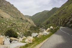 Cenário da rota 178 do estado de Califórnia Imagens de Stock Royalty Free