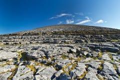 Cenário de Burren Fotografia de Stock
