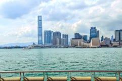 Cenário de Hong Kong Fotos de Stock
