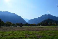 Cenário de Interlaken Fotos de Stock Royalty Free